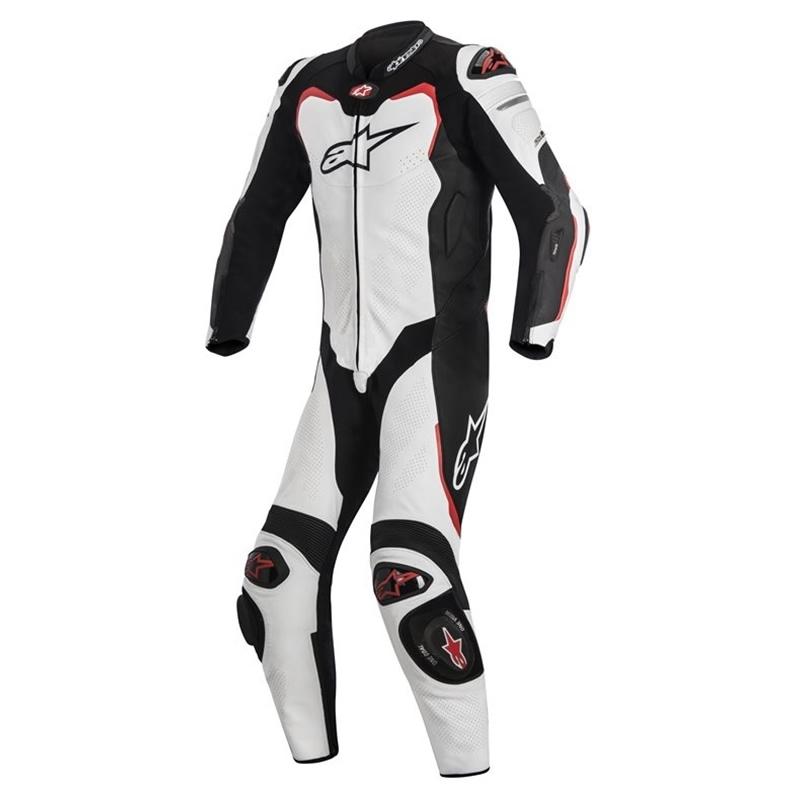 Kombi GP-Pro Tech-Air® Race-e kompatibel, Einteiler, weiß-schwarz-rot