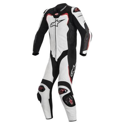 Alpinestars Kombi GP-Pro Tech-Air® Race-e kompatibel, Einteiler, weiß-schwarz-rot