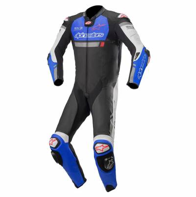 Alpinestars Kombi Missile Ignition (Tech-Air-e® kompatibel), schwarz-blau-weiß