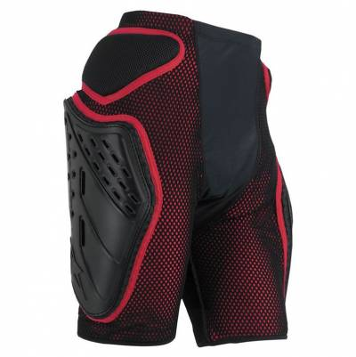 Alpinestars Protektorenhose Short Bionic Freeride, schwarz-rot