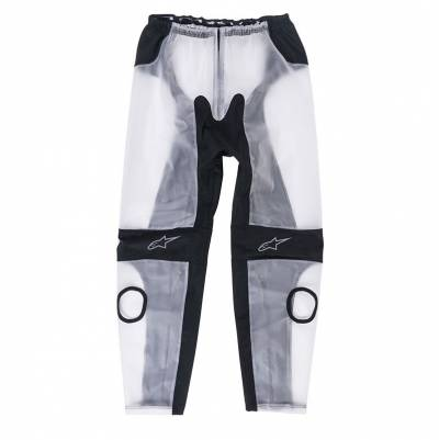 Alpinestars Regenhose Racing, transparent-schwarz