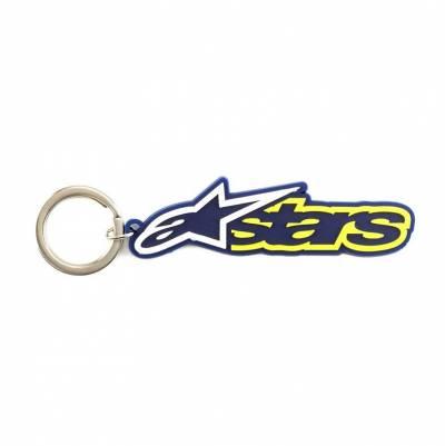 Alpinestars Schlüsselanhänger Blaze, blau-gelb