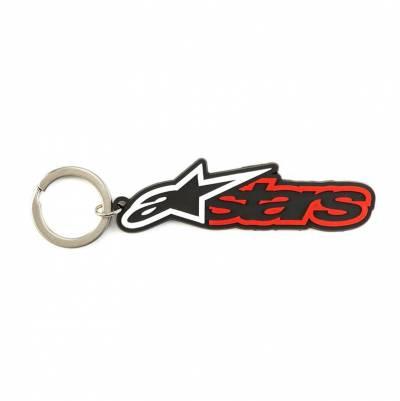 Alpinestars Schlüsselanhänger Blaze, schwarz-rot