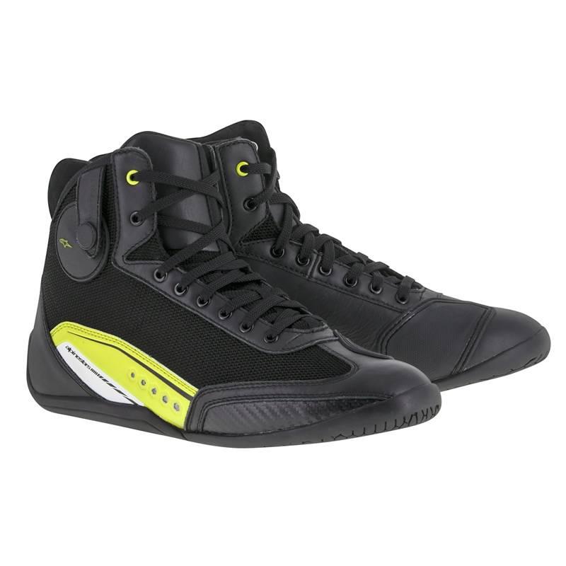 Alpinestars Schuhe AST-1, schwarz-fluogelb