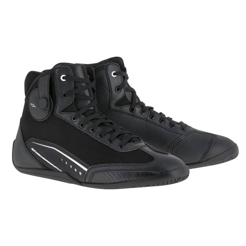 Alpinestars Schuhe AST-1, schwarz-weiß