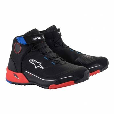 Alpinestars Schuhe CR-X Drystar Honda, schwarz-rot-blau