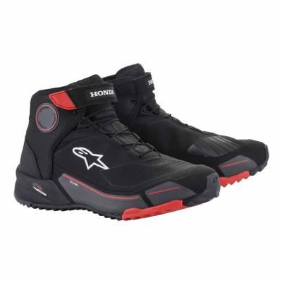 Alpinestars Schuhe CR-X Drystar Honda, schwarz-rot-grau