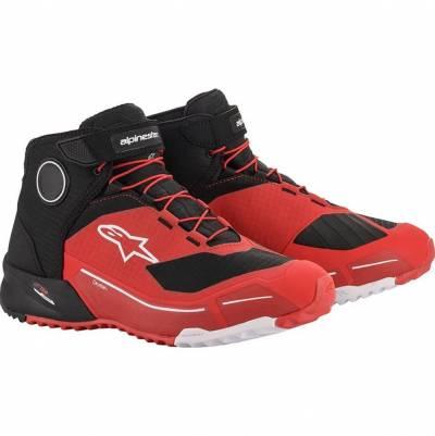 Alpinestars Schuhe CR-X Drystar, rot-schwarz