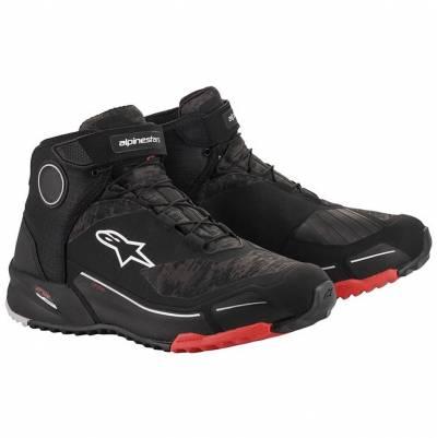 Alpinestars Schuhe CR-X Drystar, schwarz-camo-rot