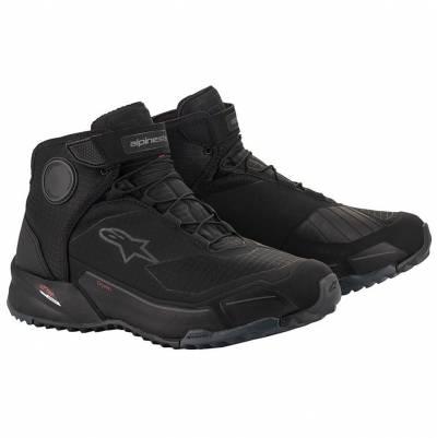 Alpinestars Schuhe CR-X Drystar, schwarz-schwarz