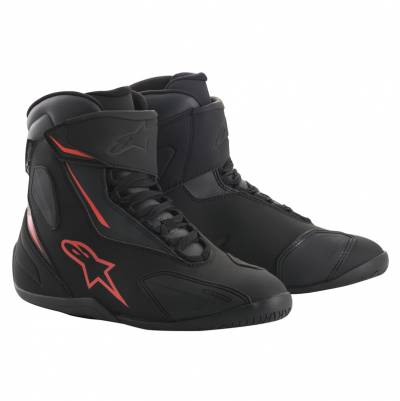 Alpinestars Schuhe Fastback-2 Drystar, schwarz-anthrazit-rot