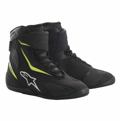 Alpinestars Schuhe Fastback-2 Drystar, schwarz-fluogelb