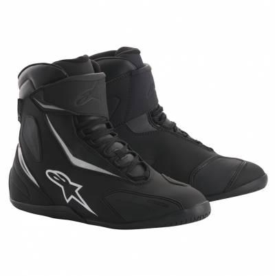Alpinestars Schuhe Fastback-2 Drystar, schwarz-weiß