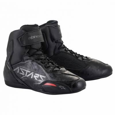 Alpinestars Schuhe Faster-3, schwarz-gunmetal