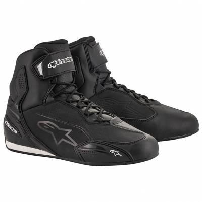 Alpinestars Schuhe Faster-3, schwarz-schwarz