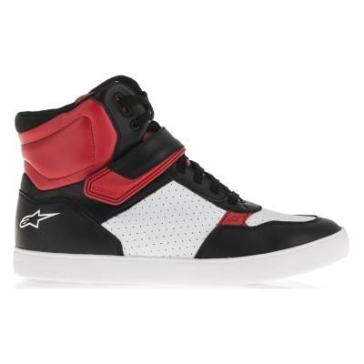 Alpinestars Schuhe Lunar, schwarz-weiß-rot