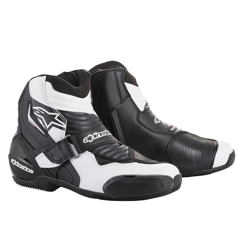 Alpinestars Schuhe SMX-1 R, graphic schwarz-weiß
