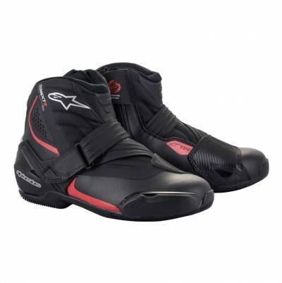 Alpinestars Schuhe SMX-1 R v2, schwarz-rot