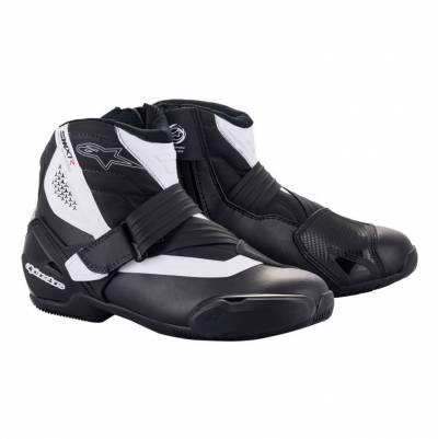 Alpinestars Schuhe SMX-1 R v2, schwarz-weiß