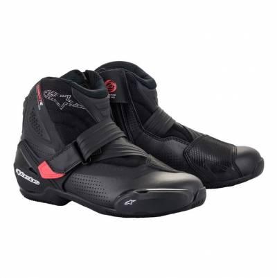 Alpinestars Schuhe SMX-1 R v2 Vented, schwarz-diva-pink