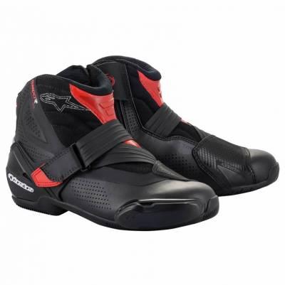 Alpinestars Schuhe SMX-1 R v2 Vented, schwarz-rot