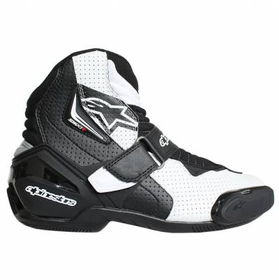 Alpinestars Schuhe SMX-1 R Vented, graphic schwarz-weiß