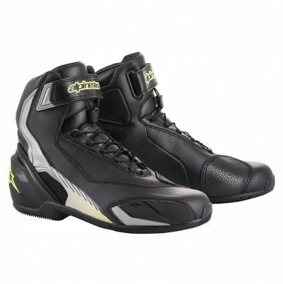 Alpinestars Schuhe SP-1 V2, schwarz-silber-fluogelb