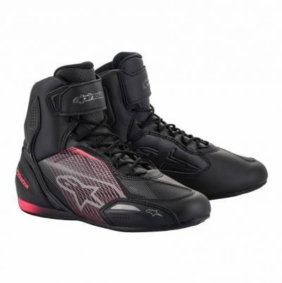 Alpinestars Schuhe Stella Faster 3, schwarz-gunmetal-pink