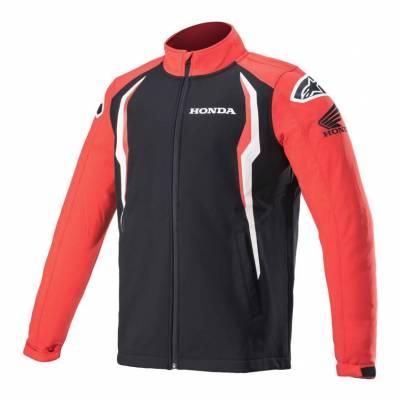 Alpinestars Softshell Jacke Honda, rot-schwarz