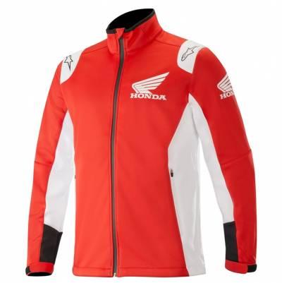 Alpinestars Softshell Jacke Honda, rot/weiß