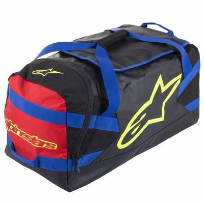 Alpinestars Sporttasche Goanna, schwarz-blau-rot-fluogelb