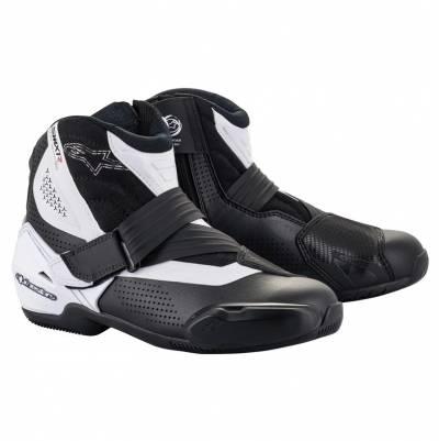 Alpinestars Stiefel SMX-1 R v2 Vented, schwarz-weiß