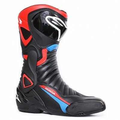 Alpinestars Stiefel SMX-6 v2 Honda, schwarz-rot-blau