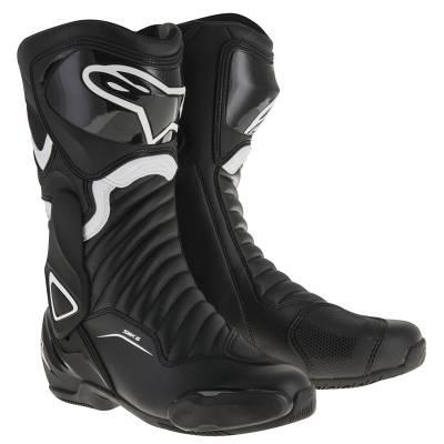 Alpinestars Stiefel SMX-6 V2, schwarz-weiß