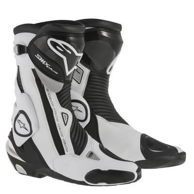 Alpinestars Stiefel SMX-Plus, schwarz-weiß