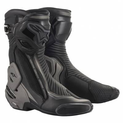 Alpinestars Stiefel SMX-Plus v2, schwarz-dunkelgrau