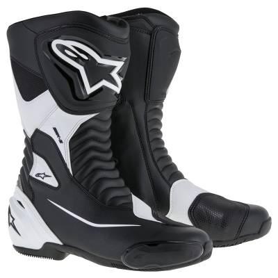 Alpinestars Stiefel SMX S, schwarz-weiß