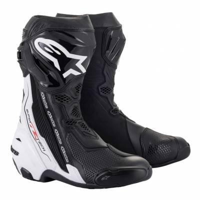 Alpinestars Stiefel Supertech R 2021 schwarz-weiß
