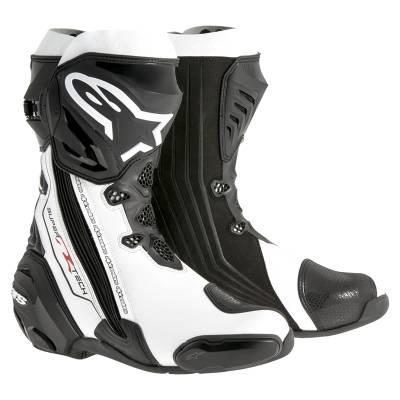 Alpinestars Stiefel Supertech-R Modell 2016, schwarz-weiß