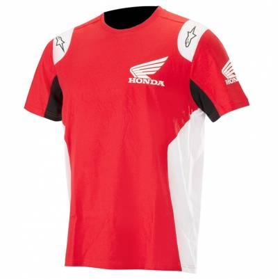 Alpinestars T-Shirt Honda, rot-weiß