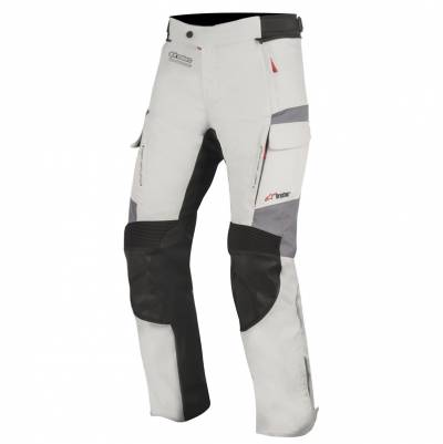 Alpinestars Textilhose Andes V2 Drystar®,  hellgrau-schwarz