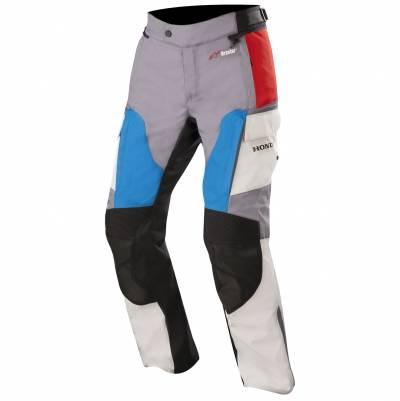 Alpinestars Textilhose Andes V2 Drystar® Honda, grau-rot-blau