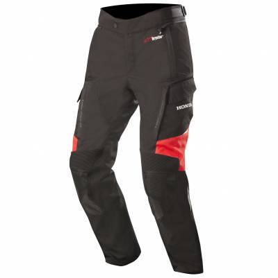Alpinestars Textilhose Andes V2 Drystar® Honda, schwarz-rot