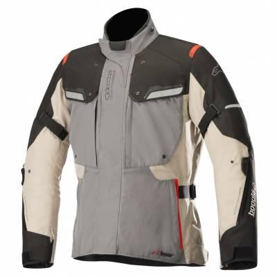 Alpinestars Textiljacke Bogota V2 Drystar, grau-beige-schwarz