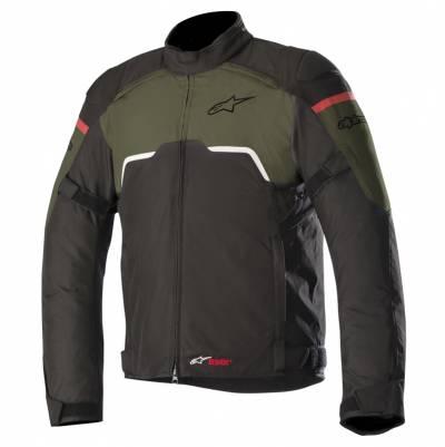 Alpinestars Textiljacke Hyper Drystar®, schwarz-militarygrün