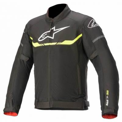 Alpinestars Textiljacke T-SPS Air, schwarz-fluogelb