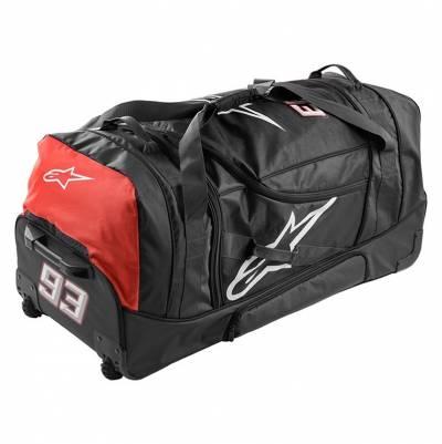 Alpinestars Trolley-Reisetasche MM93 Gear Bag 150 Liter, schwarz-rot