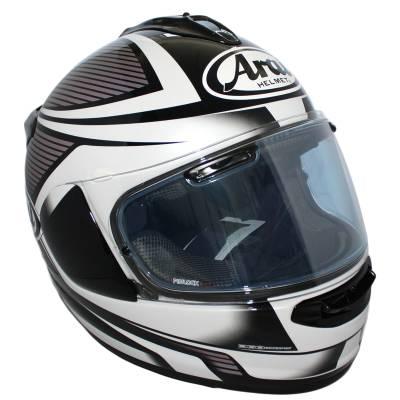 Arai Chaser-X Tough White, schwarz-weiß