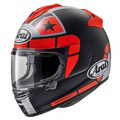 Arai Helm Chaser-X Maverick GP, schwarz-fluorot-silber matt