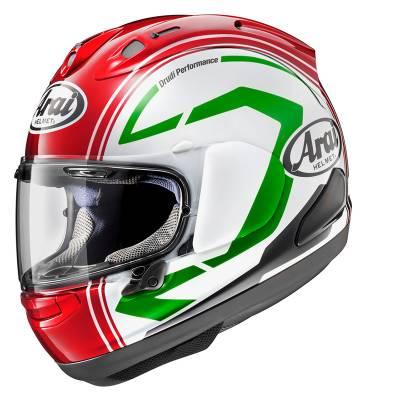 Arai Helm RX7-V Statement red, rot-weiß-grün